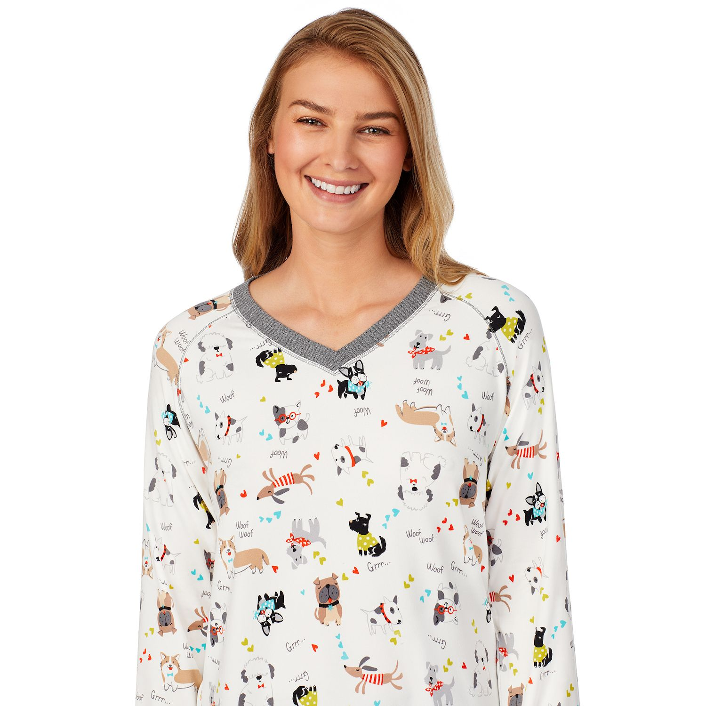 Women's Cuddl Duds® Pajama Top, Pajama Pants & Socks Set