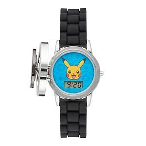 Pokémon Kids' Digital Spinner Watch