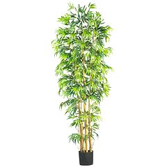 nearly natural 7-ft. Silk Bambusa Bamboo Tree
