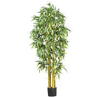 nearly natural 6-ft. Silk Biggy Bamboo Tree