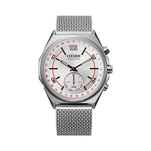 Citizen Connected Stainless Steel Mesh Activity Tracker Watch - CX0000-71A