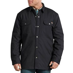 Men's Dickies Plaid Lined Shirt Jacket