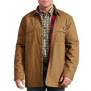 Men's Dickies Plaid Lined Shirt Jacket