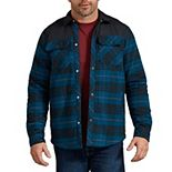 Men's Dickies Flannel Shirt Jacket