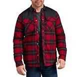 Men's Dickies Flannel Shirt Jacket