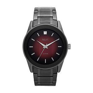 Relic by Fossil Men's Rylan Gunmetal Bracelet Watch - ZR77321