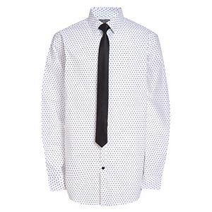 Boys 10-20 Husky Van Heusen Button-Up Shirt & Tie Set