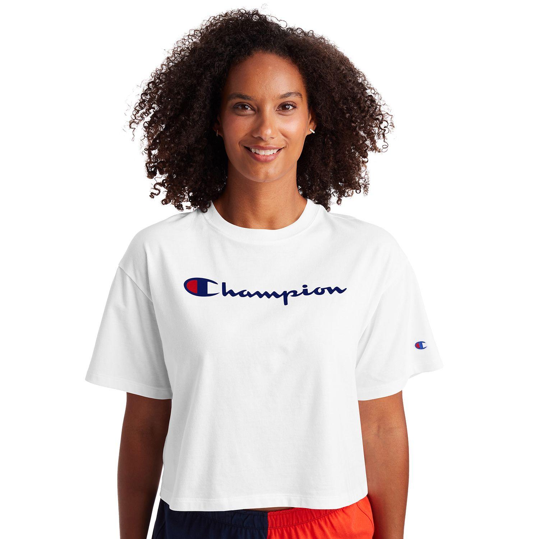 Women's Champion® Crop Tee