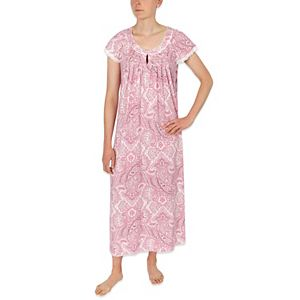 Women's Miss Elaine Essentials Knit Long Nightgown