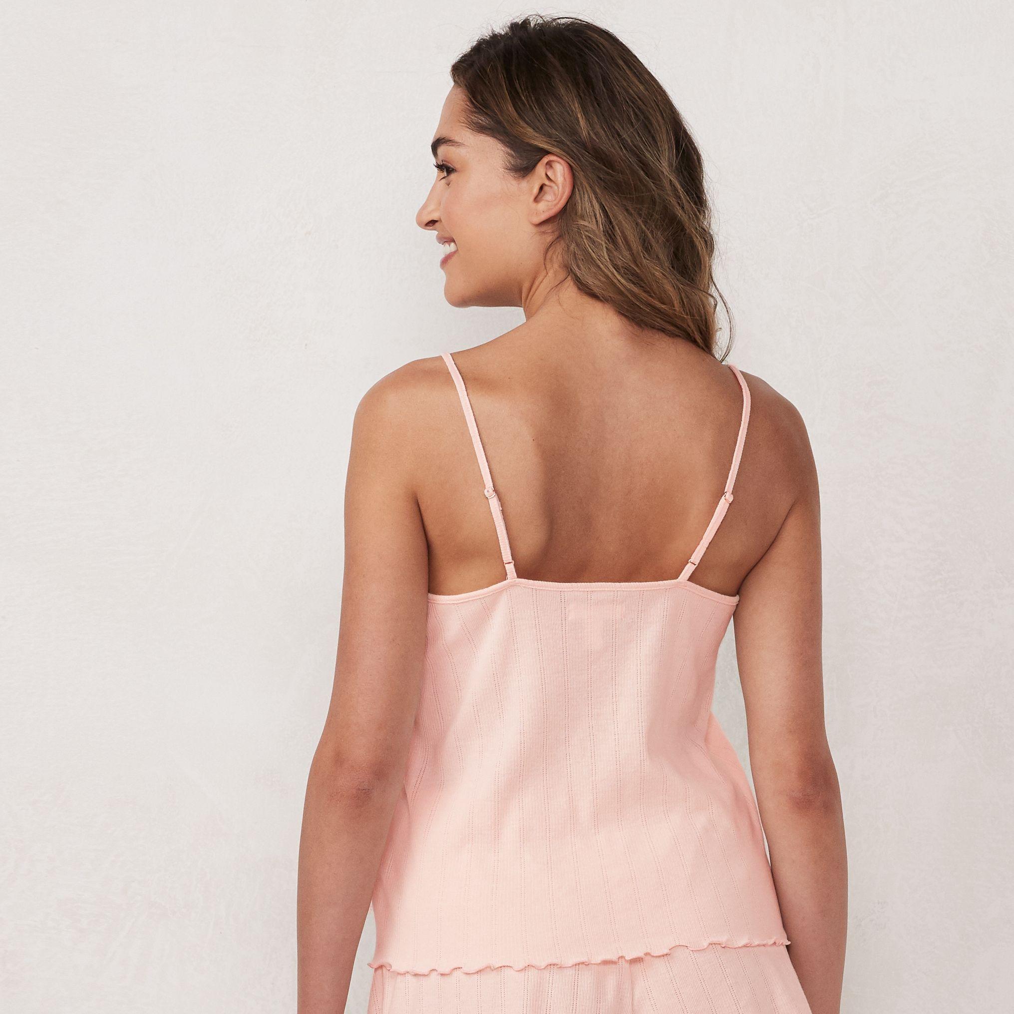 Women's LC Lauren Conrad Pointelle Cami Pajama Tank Top
