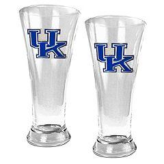University of Kentucky Wildcats 2-pc. Pilsner Glass Set