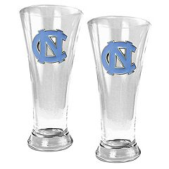 North Carolina Tar Heels 2-pc. Pilsner Glass Set
