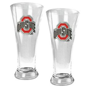 Ohio State Buckeyes 2-pc. Pilsner Glass Set