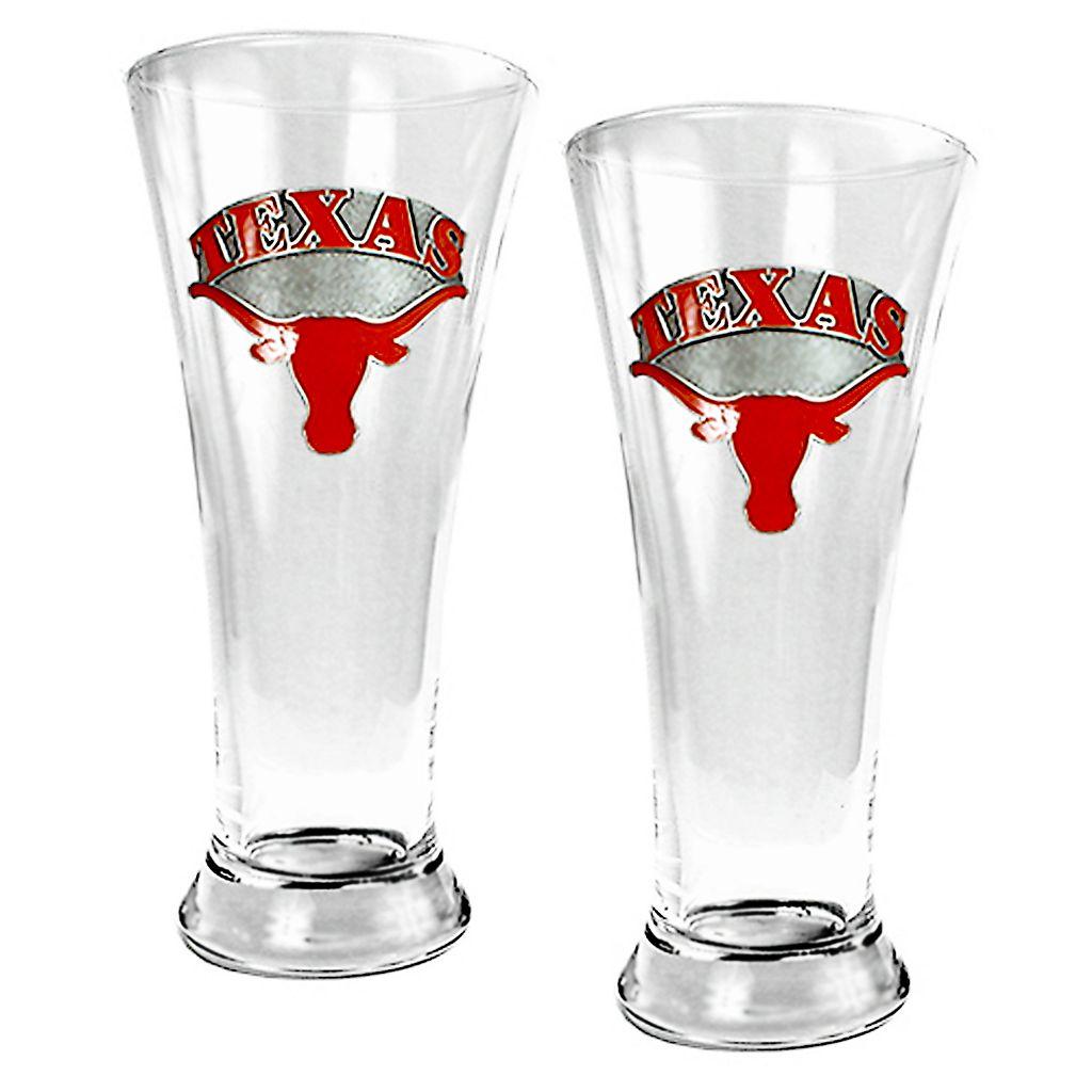 University of Texas Longhorns 2-pc. Pilsner Glass Set