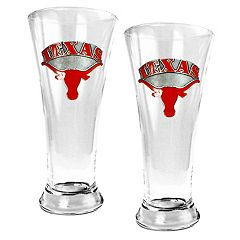 University of Texas Longhorns 2-pc. Pilsner Glass Set