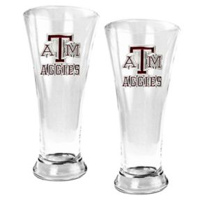 Texas A and M Aggies 2-pc. Pilsner Glass Set