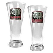 University of Alabama Crimson Tide 2-pc. Pilsner Glass Set