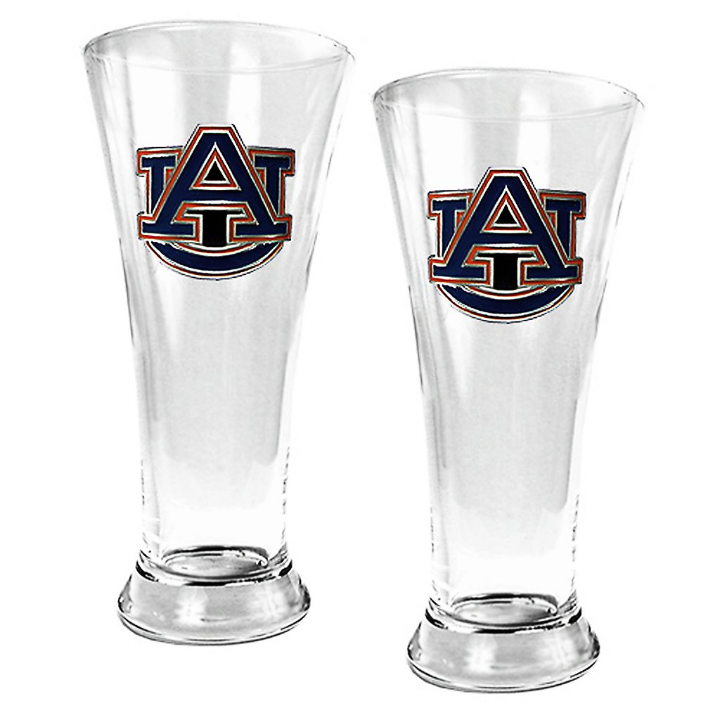 Auburn Tigers 2-pc. Pilsner Glass Set