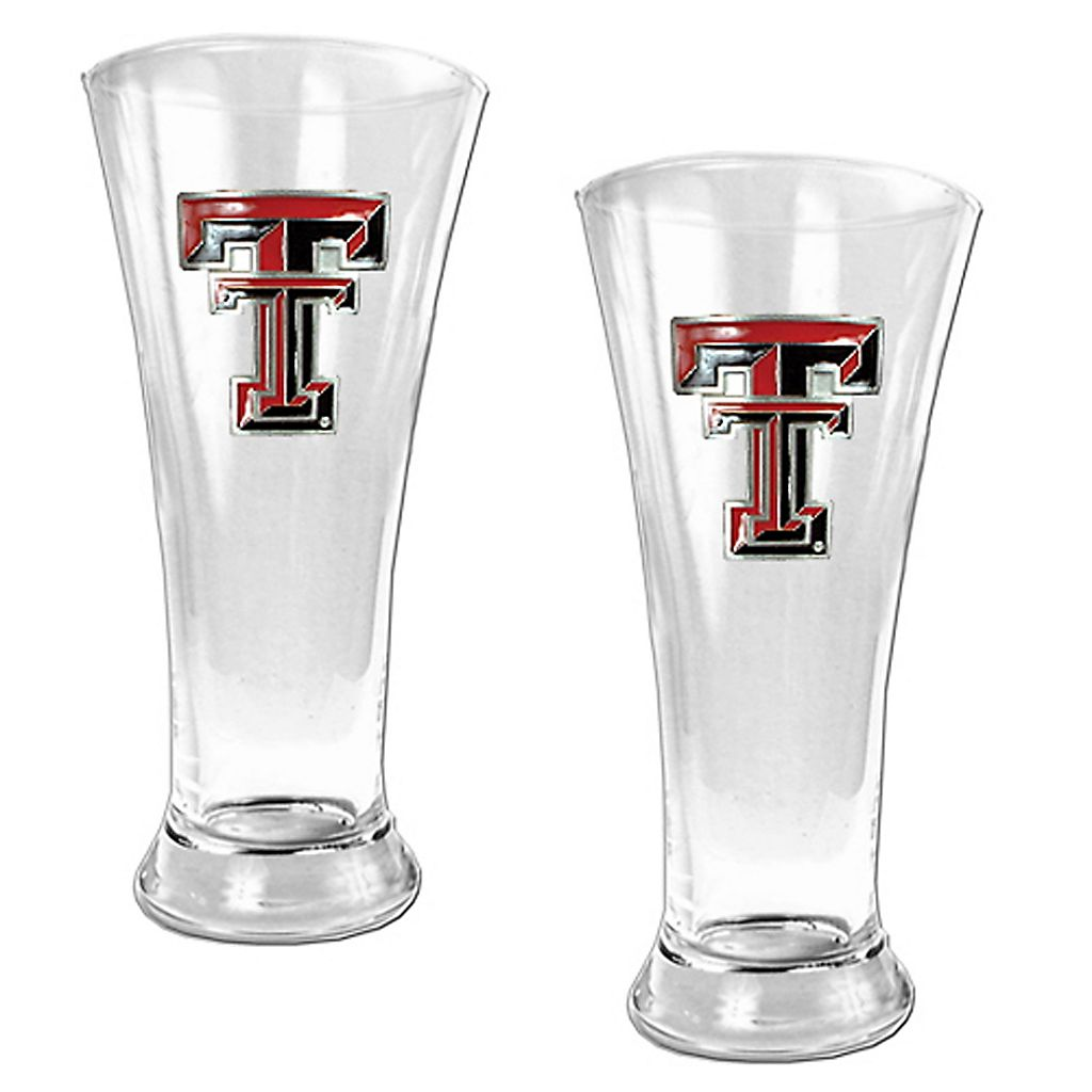 Texas Tech Red Raiders 2-pc. Pilsner Glass Set