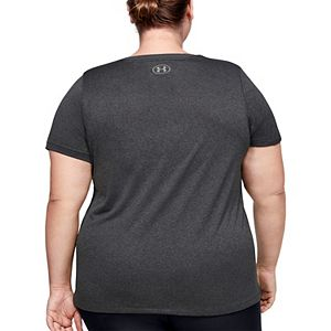 Plus Size Under Armour Tech V-Neck Tee