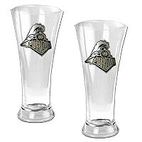 Purdue University Boilermakers 2 pc Pilsner Glass Set