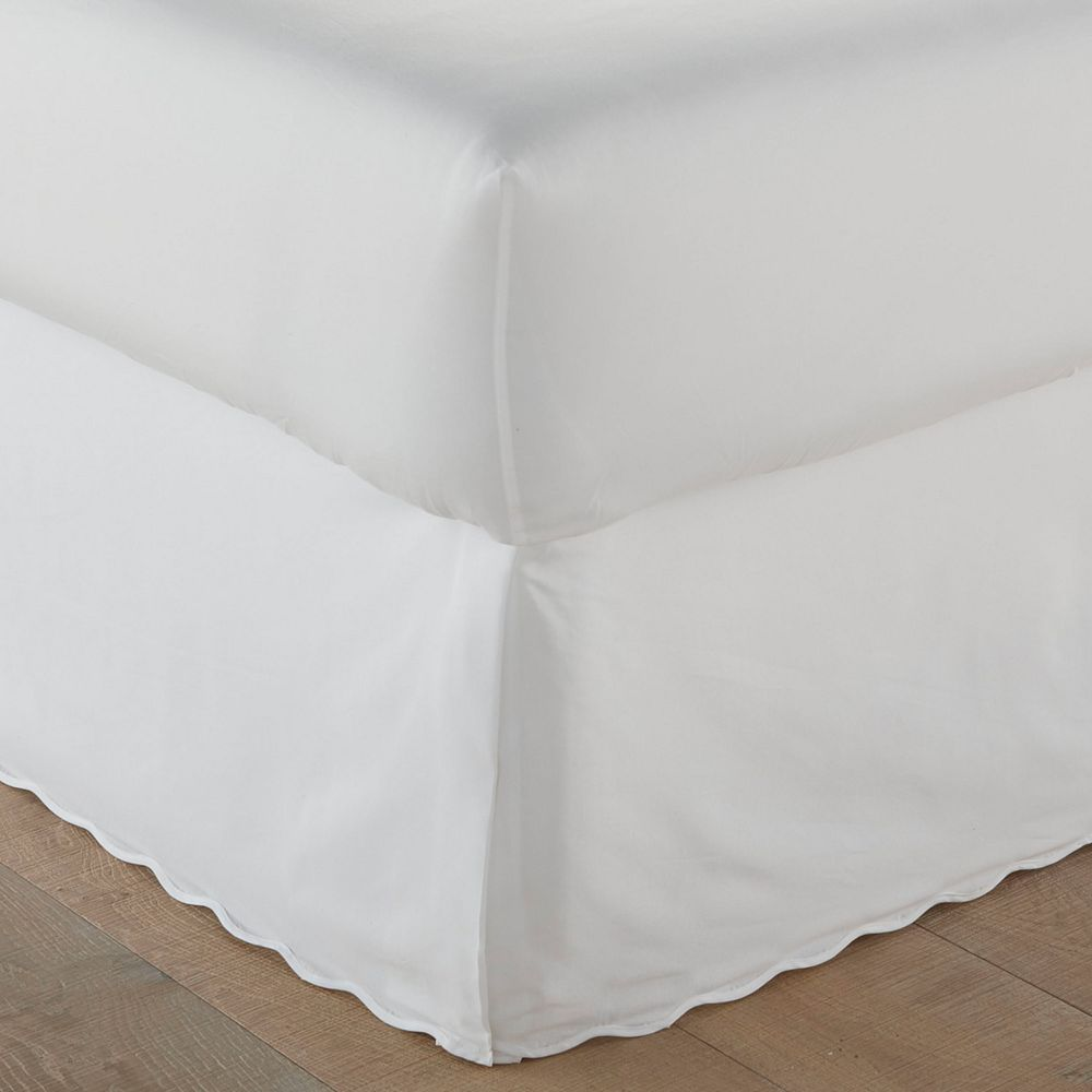 Stone Cottage Solid Scallop Bedskirt