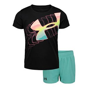 Girls 4-6x Under Armour UA Big Logo Ombre Set