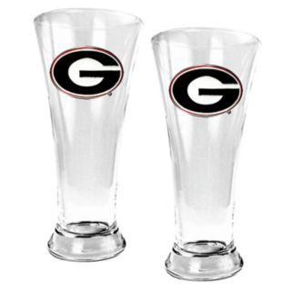 University of Georgia Bulldogs 2-pc. Pilsner Glass Set