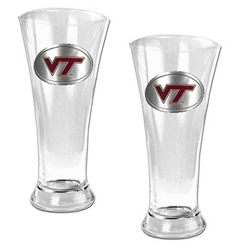 Virginia Tech Hokies 2-pc. Pilsner Glass Set