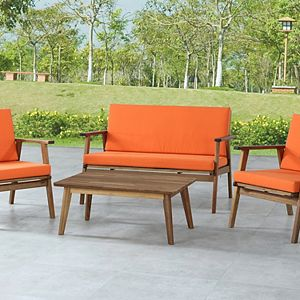 Linon Cole Outdoor Patio Set