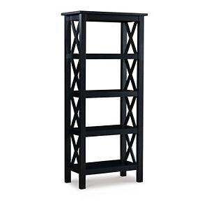 Linon Davis 5-Tier Bookcase