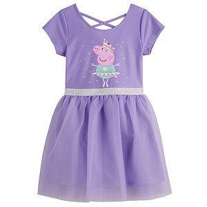 Toddler Girl Peppa Pig Tulle Dress