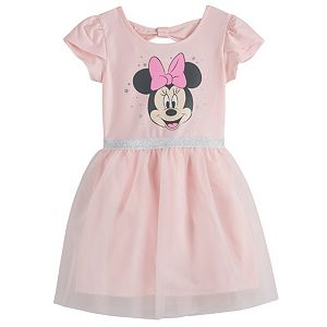 Disney's Minnie Mouse Toddler Girl Tulle Dress