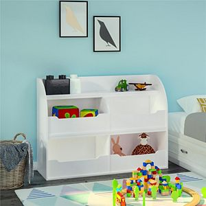 Ameriwood Home Mia Toy Storage Bookcase