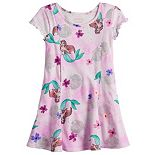 Disney's The Little Mermaid Ariel Girls 4-12 Adaptive Princess Seam Dress by Jumping Beans®