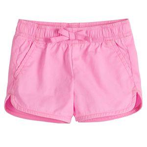 4 Kids, Pink OshKosh BGosh Carters Little Girls Pom Pom Trim Shorts