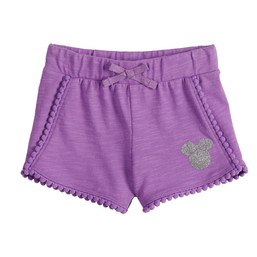 Disney's Minnie Mouse Baby Girl Pom-Pom Shorts by Jumping Beans®