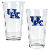 University of Kentucky Wildcats 2 pc Pint Ale Glass Set