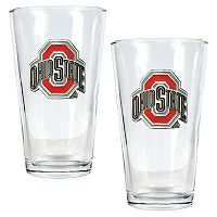 Ohio State University Buckeyes 2-pc. Pint Ale Glass Set