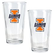 University of Illinois Fighting Illini 2-pc. Pint Ale Glass Set