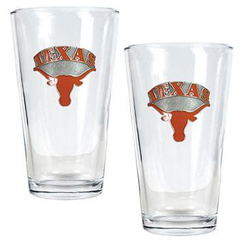 University of Texas Longhorns 2-pc. Pint Ale Glass Set