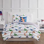 My World Kids Dino Tracks Comforter Set