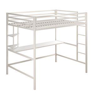 Novogratz Maxwell Loft Bed & Desk