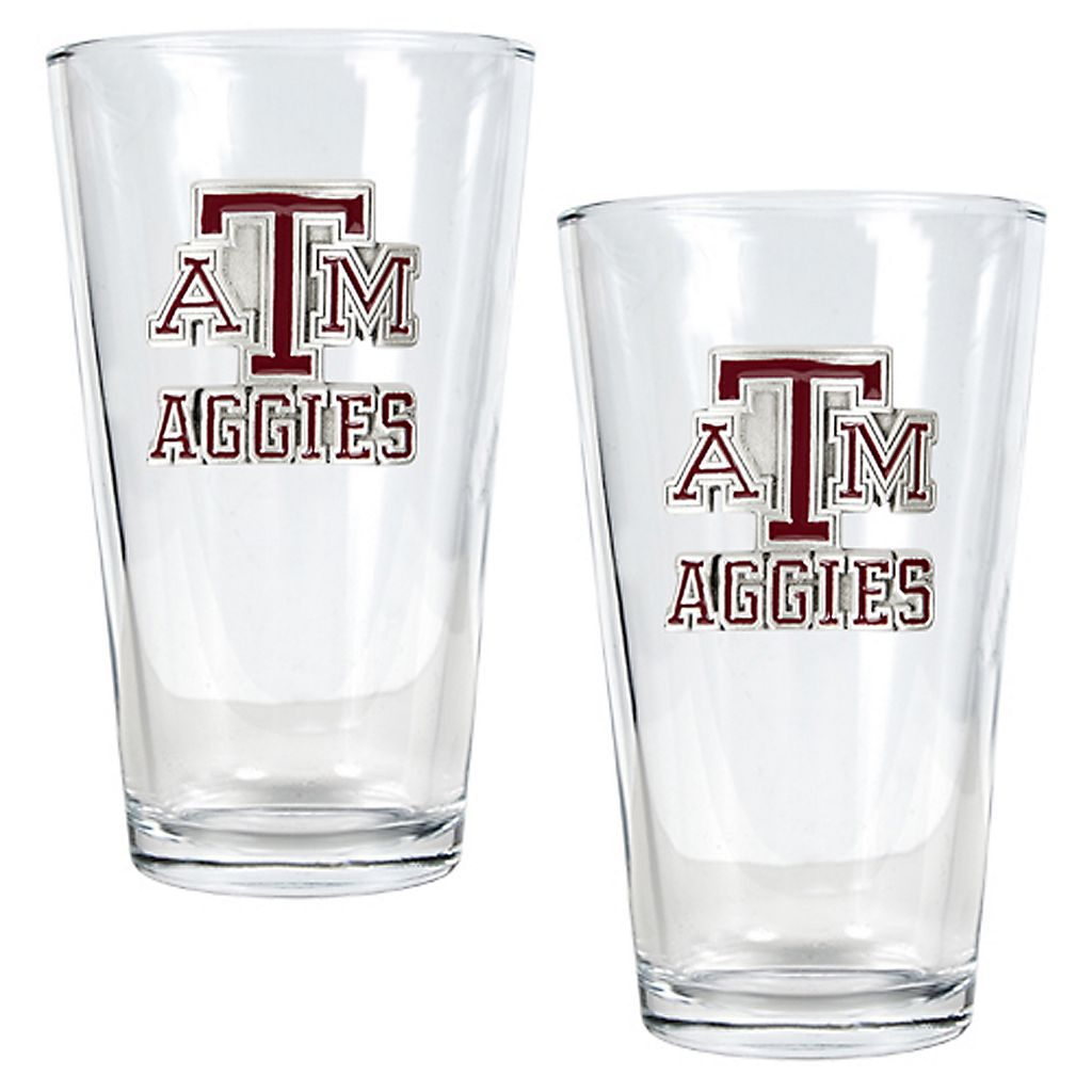 Texas A&M University Aggies 2-pc. Pint Ale Glass Set