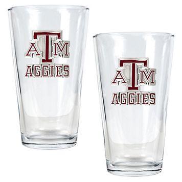 Texas A&M University Aggies 2-pc. Pint Ale Glass Set