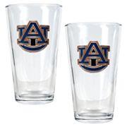 Auburn University Tigers 2 pc Pint Ale Glass Set
