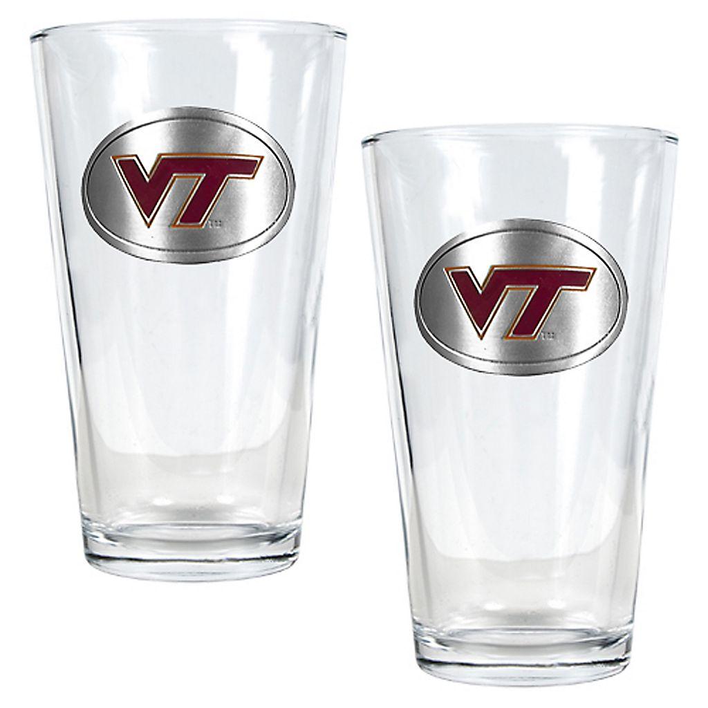 Virginia Tech University Hokies 2-pc. Pint Ale Glass Set