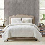 Style 212 Diamond Clipped Jacquard 5-piece Comforter Set