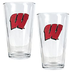 University of Wisconsin Badgers 2-pc. Pint Ale Glass Set