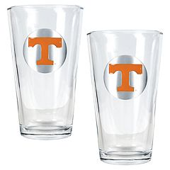 University of Tennessee Volunteers 2 pc Pint Ale Glass Set